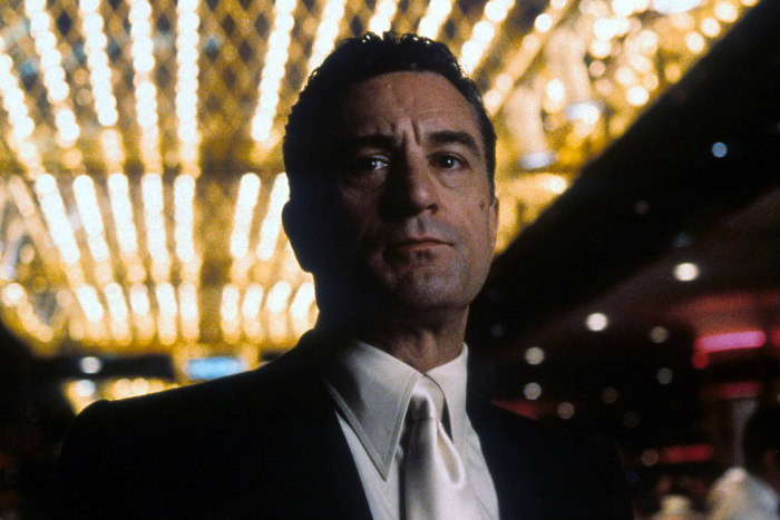 Robert De Niro as Ace Rothstein in a scene from the 1995 film Casino
