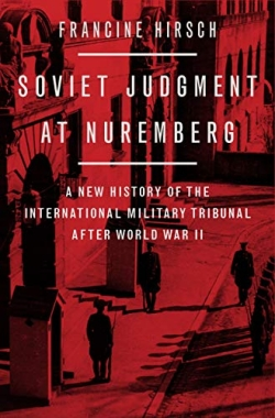 Book  Cover- Soviet Judgement at Nuremberg