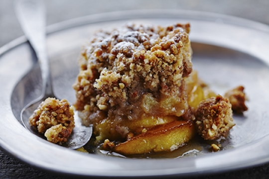Nellie's Famous Apple Brown Betty